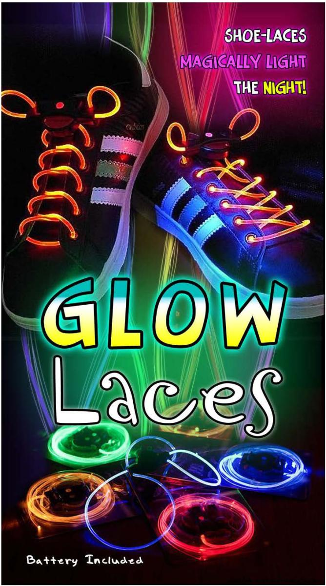 Glow Laces-Svietiace LED �n�rky