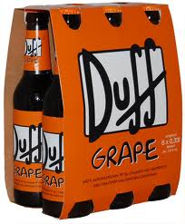 Pivo Duff-GRAPE 12 � - 6 x f�a�a 0,33l 4,9%