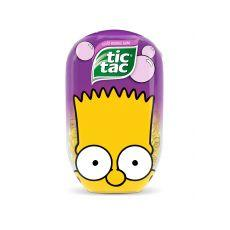 Tic Tac Bubble gum Bart Simpson 98g